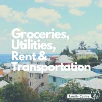 Groceries, Utilities, Rent & Transportation